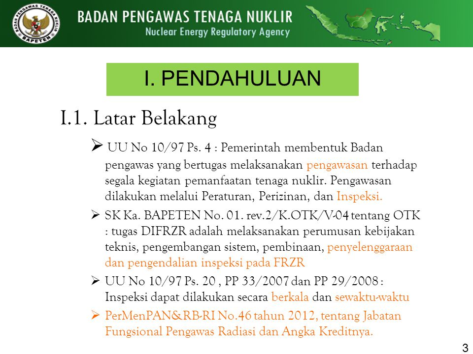 I. PENDAHULUAN I.1. Latar Belakang