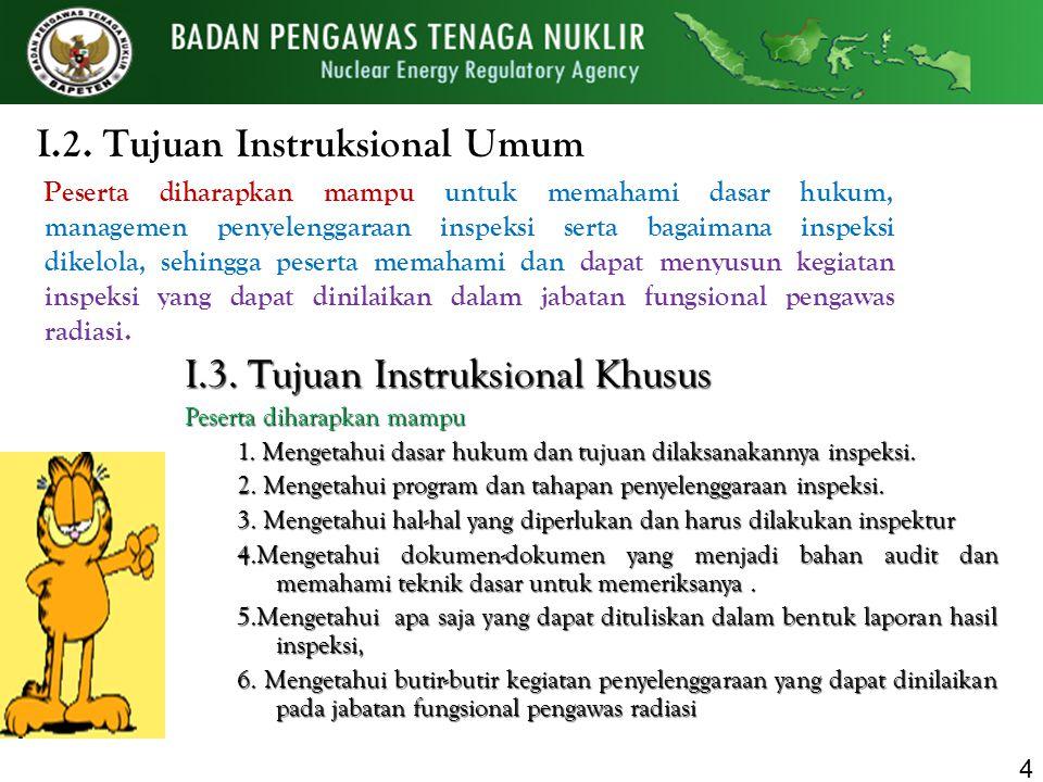 I.2. Tujuan Instruksional Umum