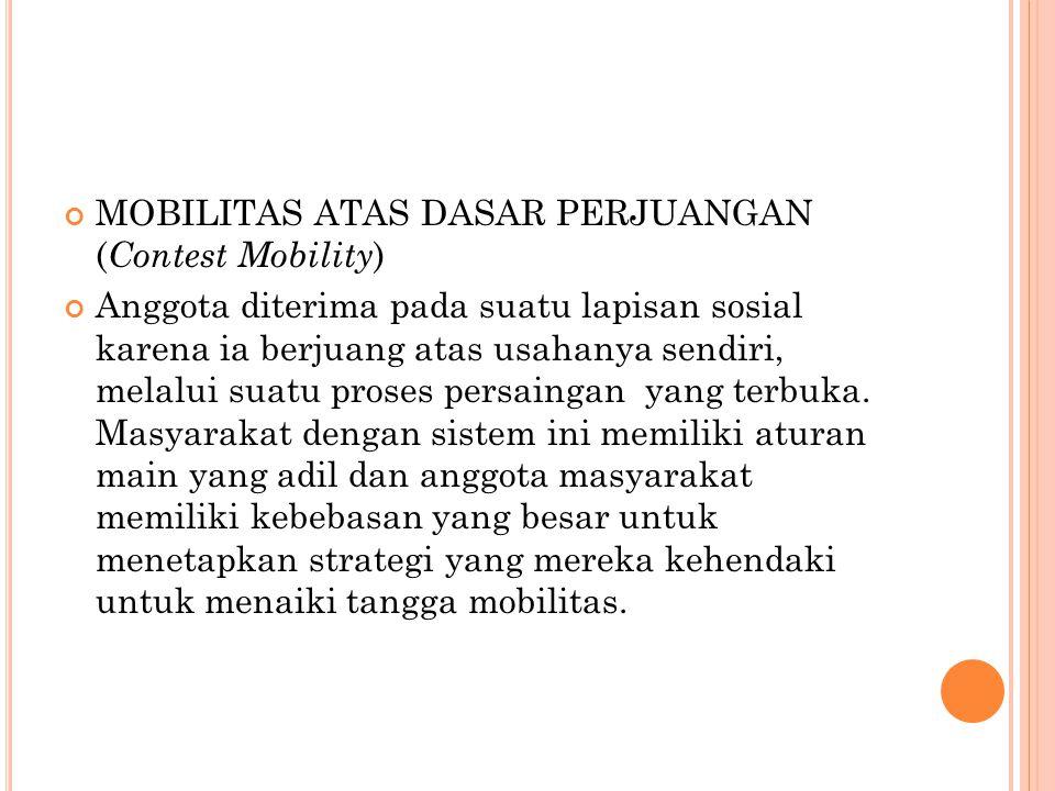 MOBILITAS ATAS DASAR PERJUANGAN (Contest Mobility)