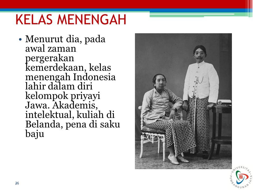 KELAS MENENGAH
