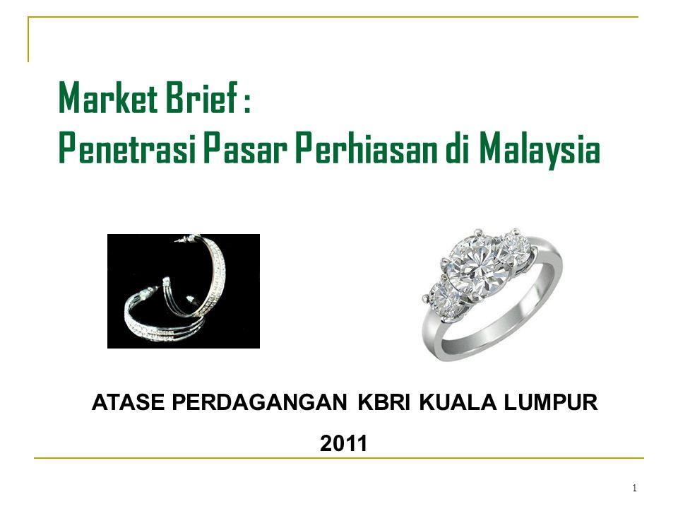 Market Brief : Penetrasi Pasar Perhiasan di Malaysia