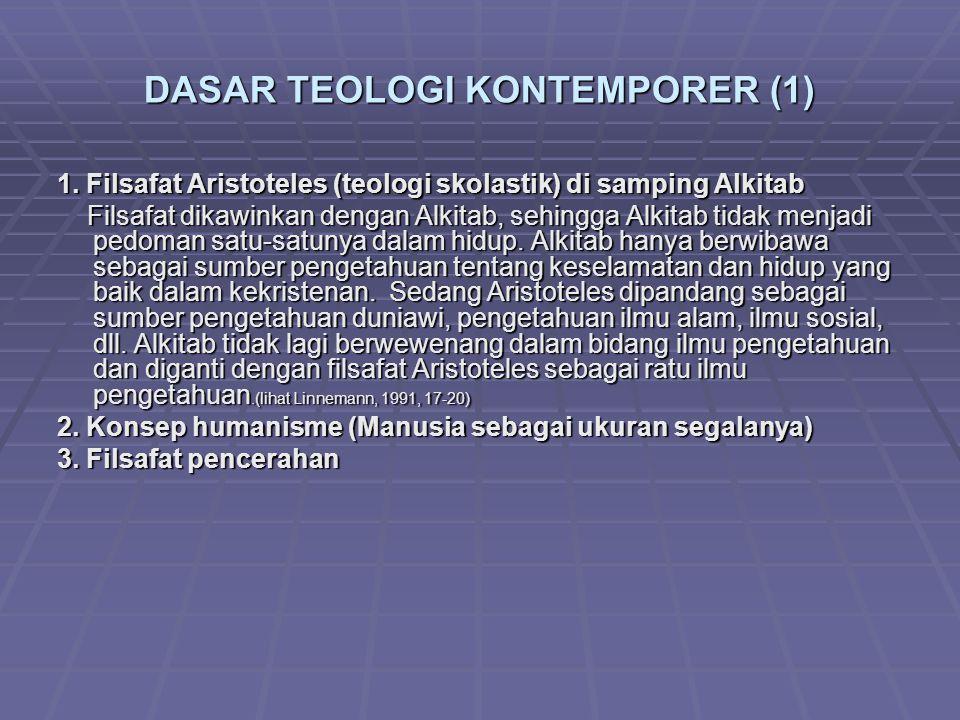 DASAR TEOLOGI KONTEMPORER (1)