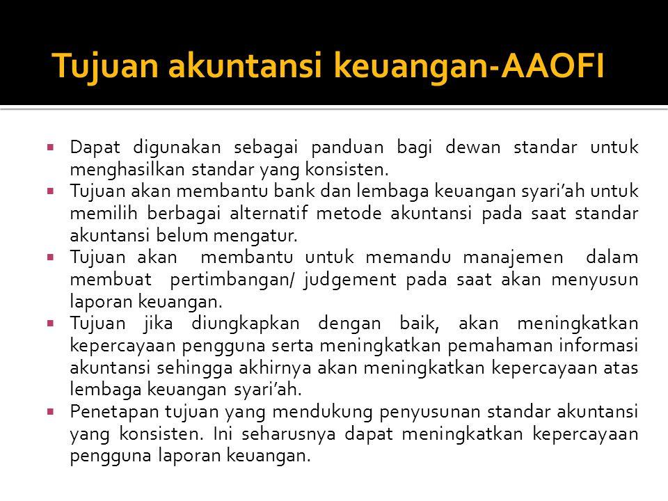Tujuan akuntansi keuangan-AAOFI