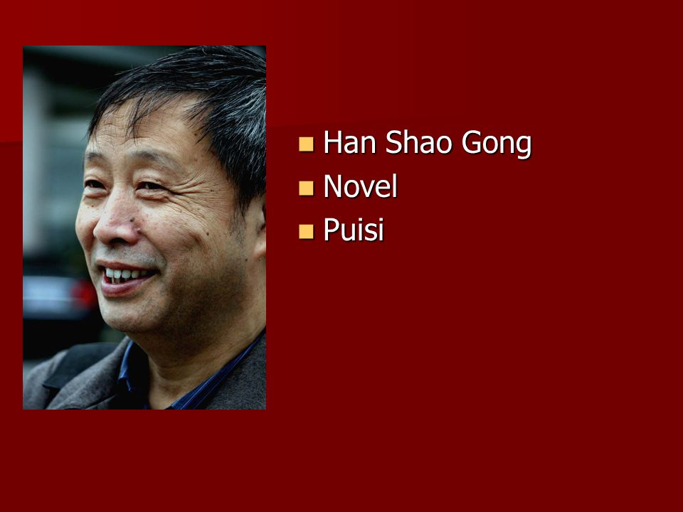 Han Shao Gong Novel Puisi