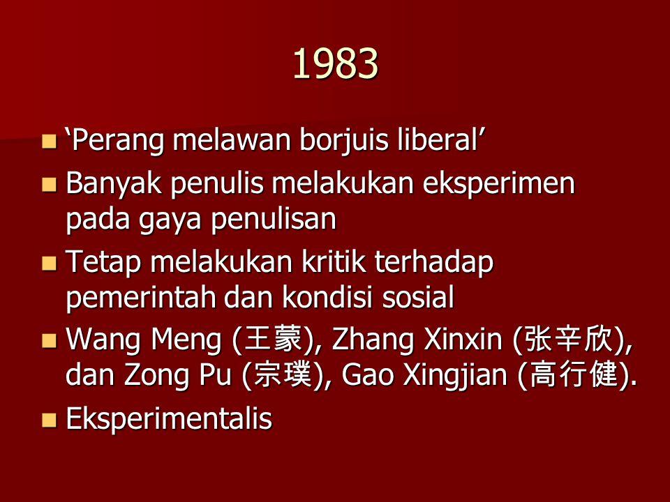 1983 'Perang melawan borjuis liberal'