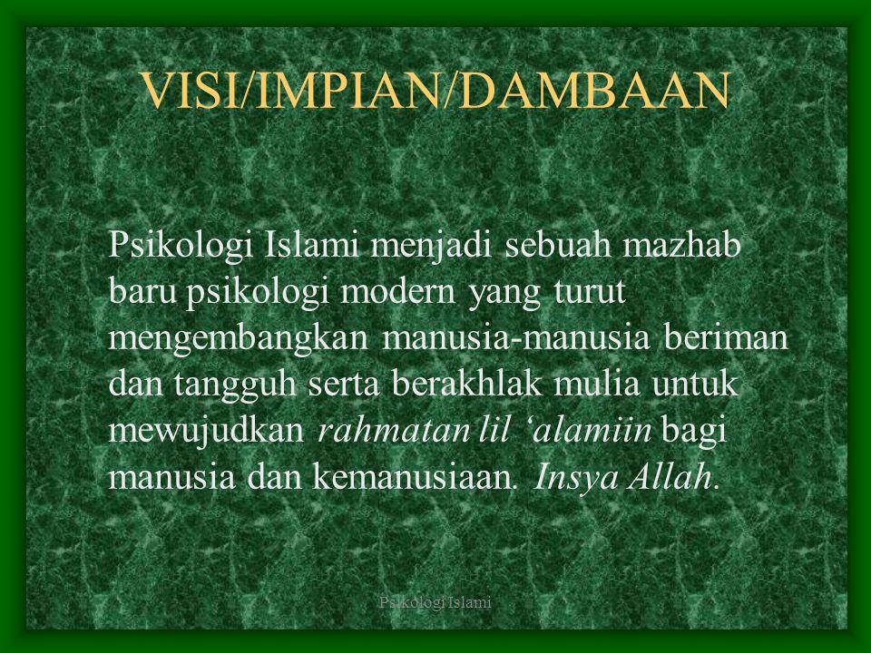 VISI/IMPIAN/DAMBAAN
