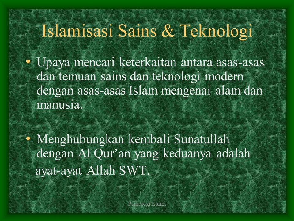 Islamisasi Sains & Teknologi