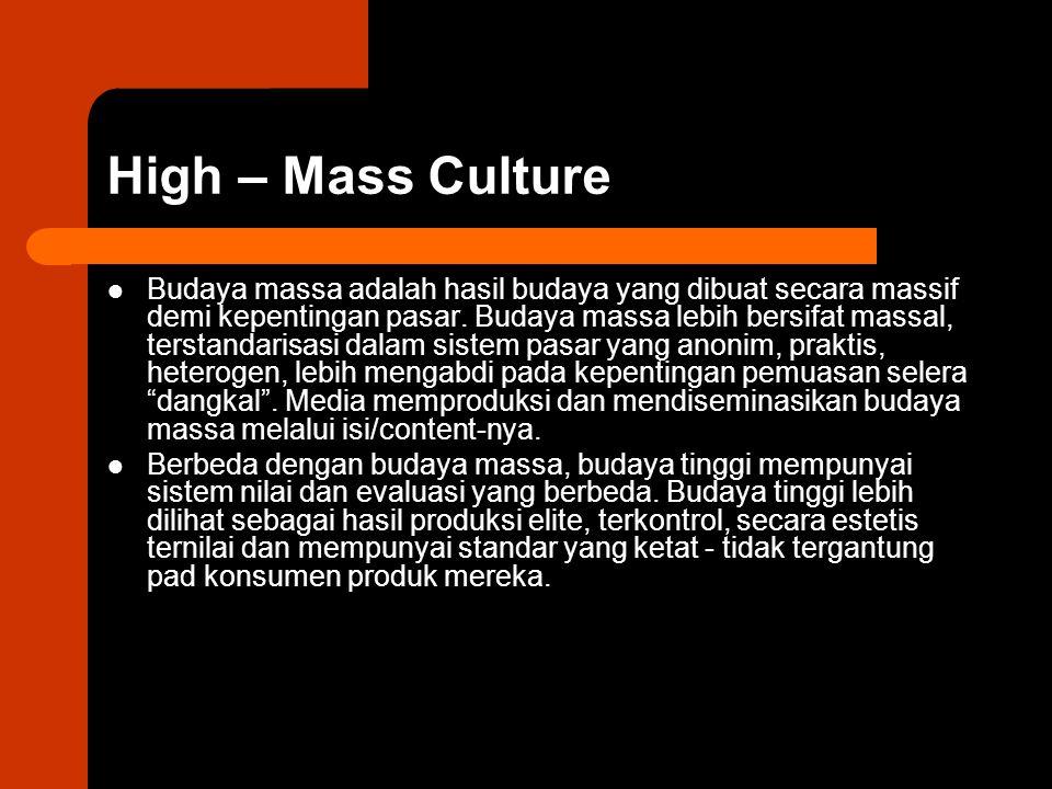 High – Mass Culture