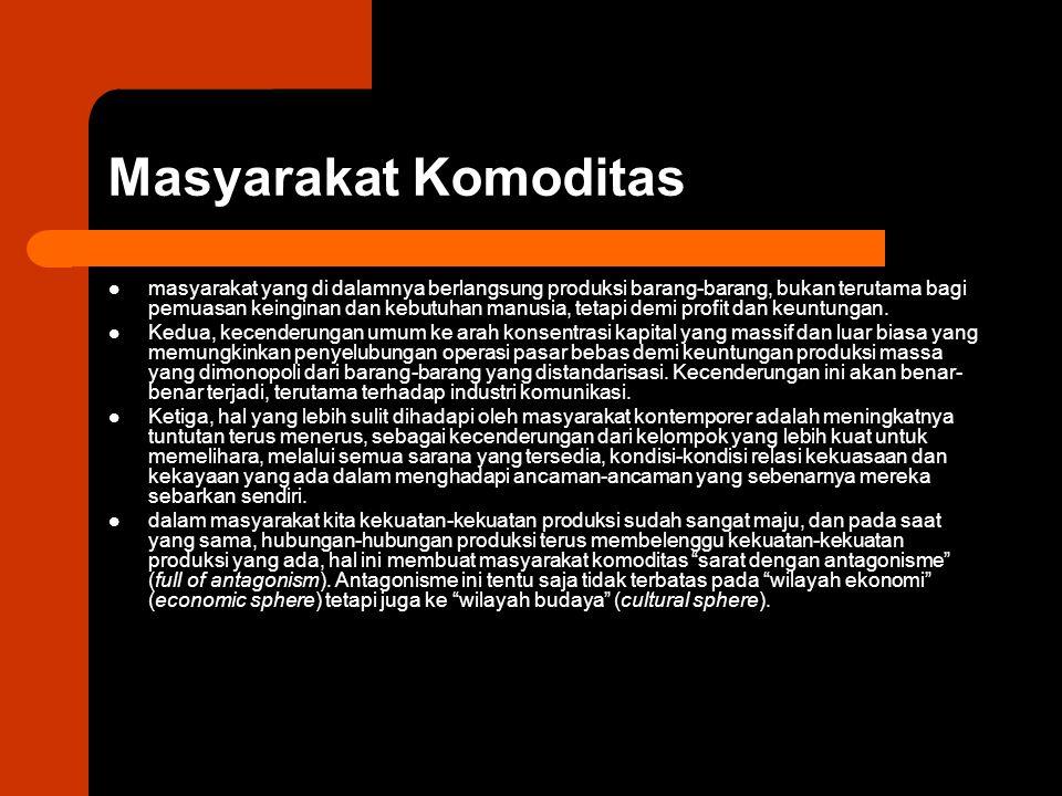 Masyarakat Komoditas