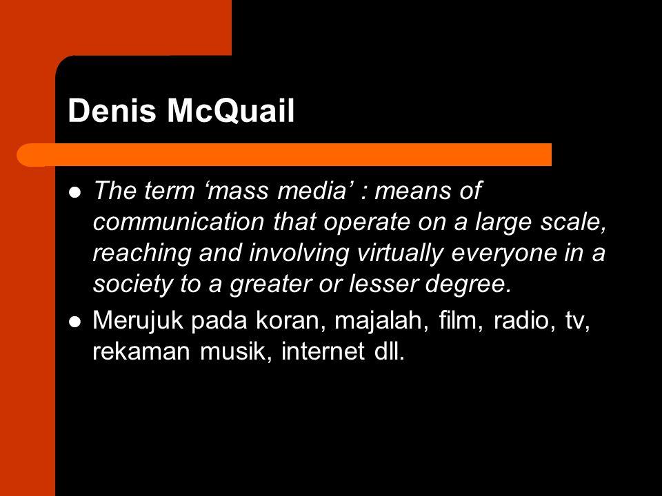 Denis McQuail
