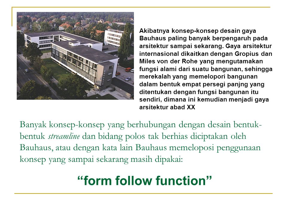 form follow function