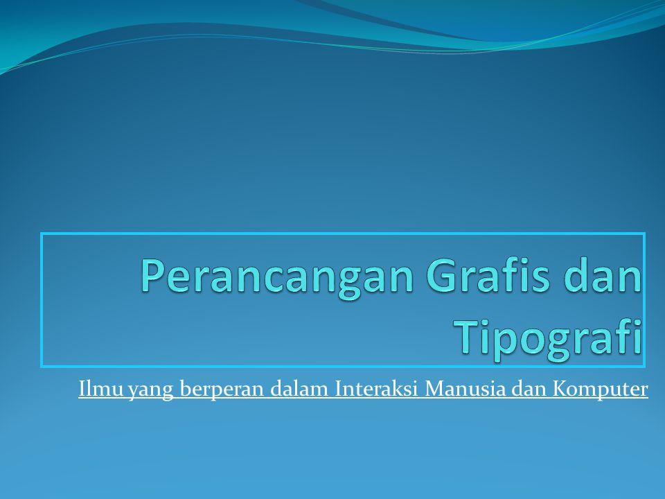 Perancangan Grafis dan Tipografi