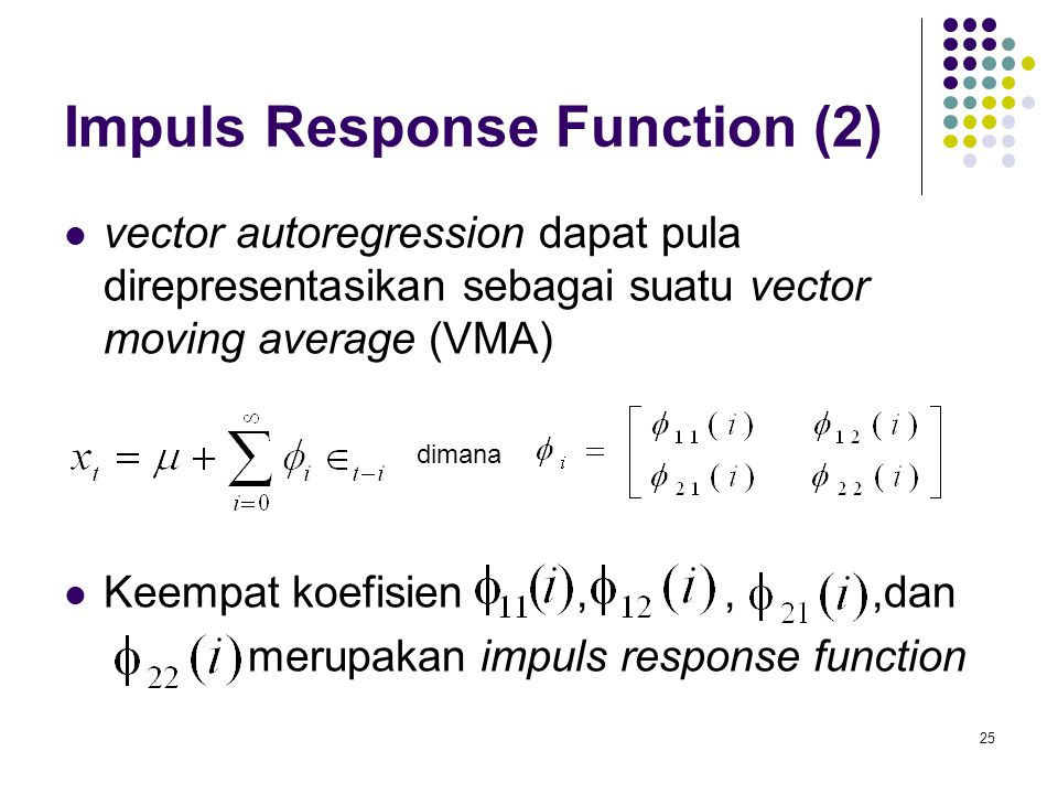 Impuls Response Function (2)