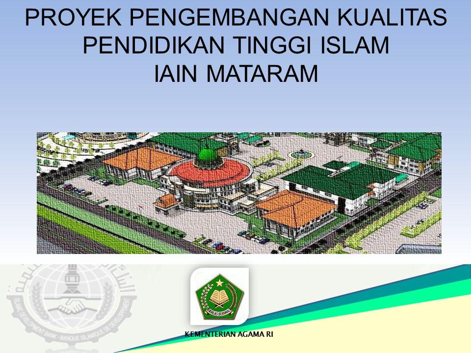 PROYEK PENGEMBANGAN KUALITAS PENDIDIKAN TINGGI ISLAM