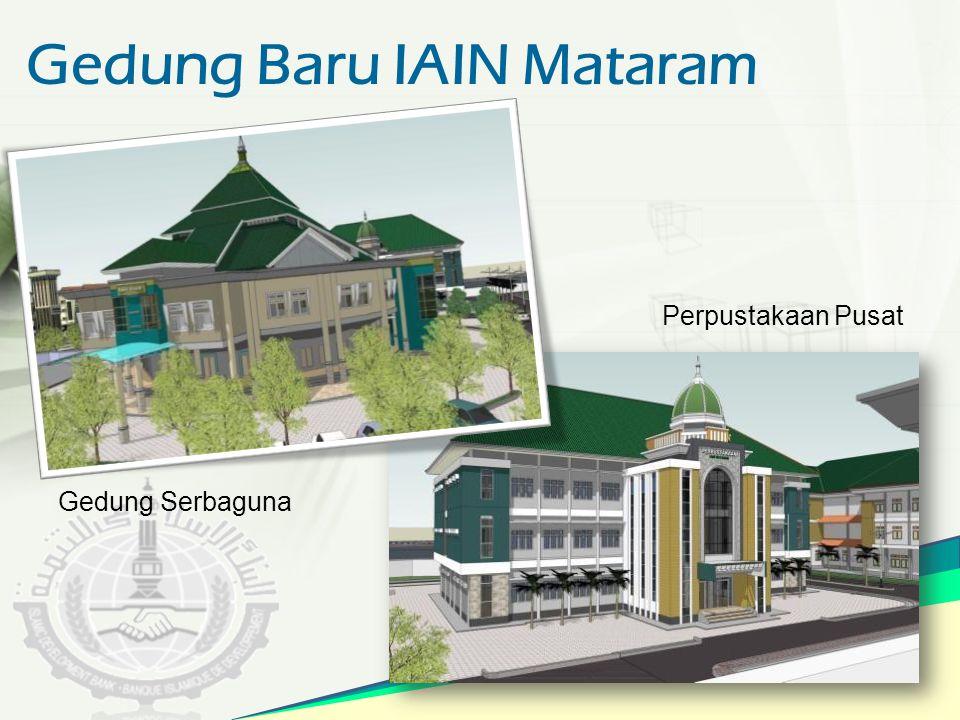 Gedung Baru IAIN Mataram