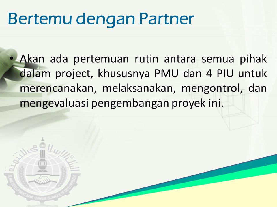 Bertemu dengan Partner