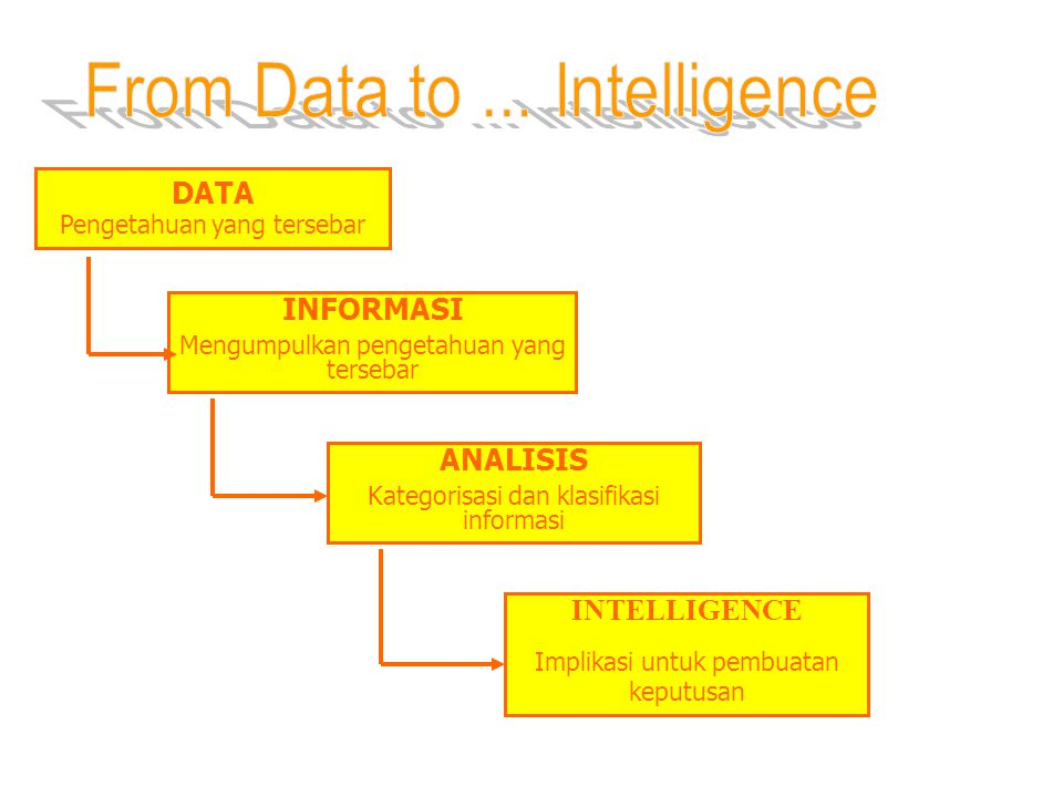 From Data to ... Intelligence