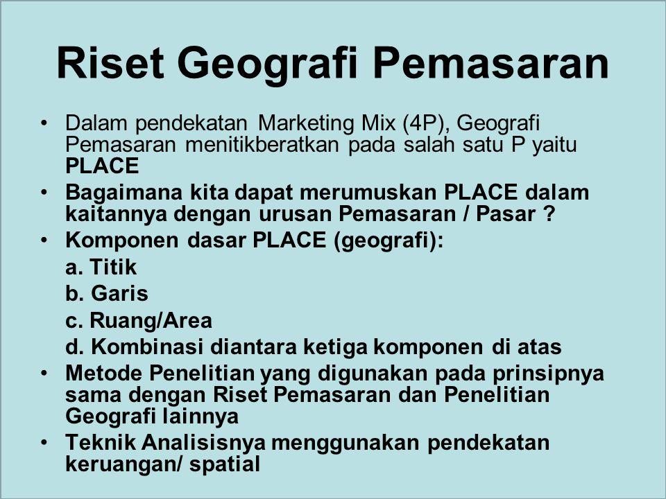 Riset Geografi Pemasaran