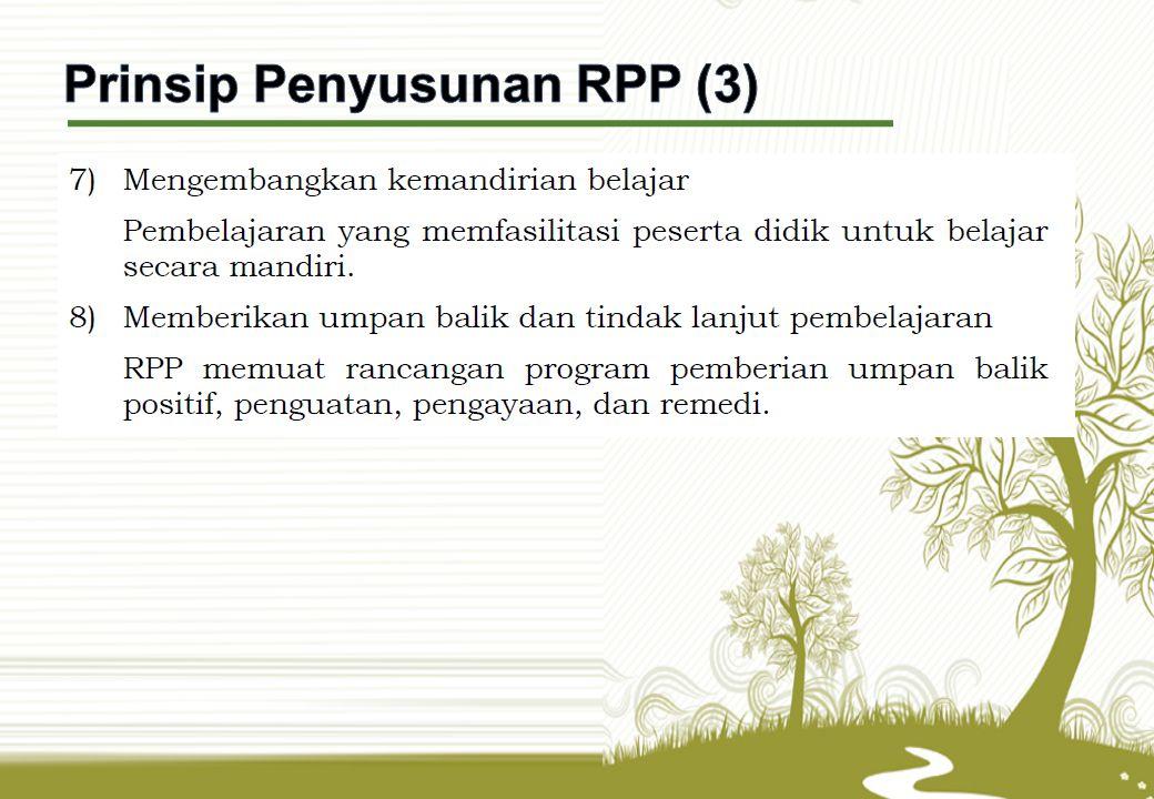Prinsip Penyusunan RPP (3)