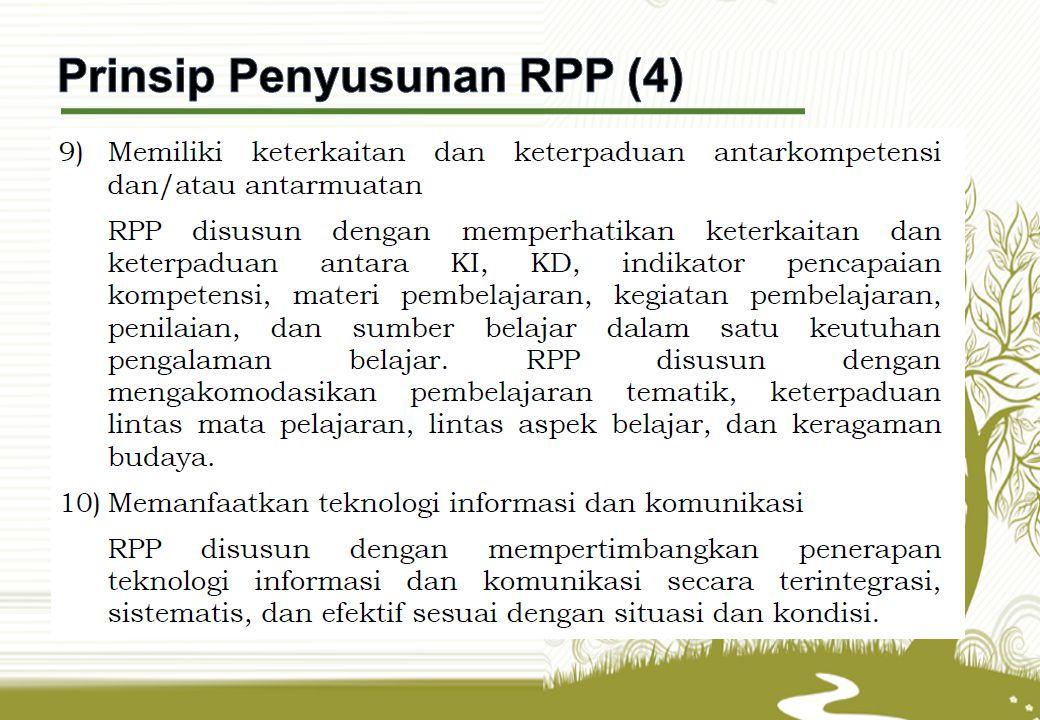 Prinsip Penyusunan RPP (4)