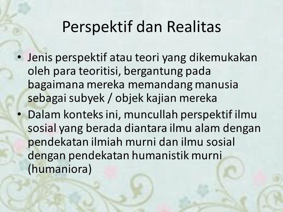 Perspektif dan Realitas