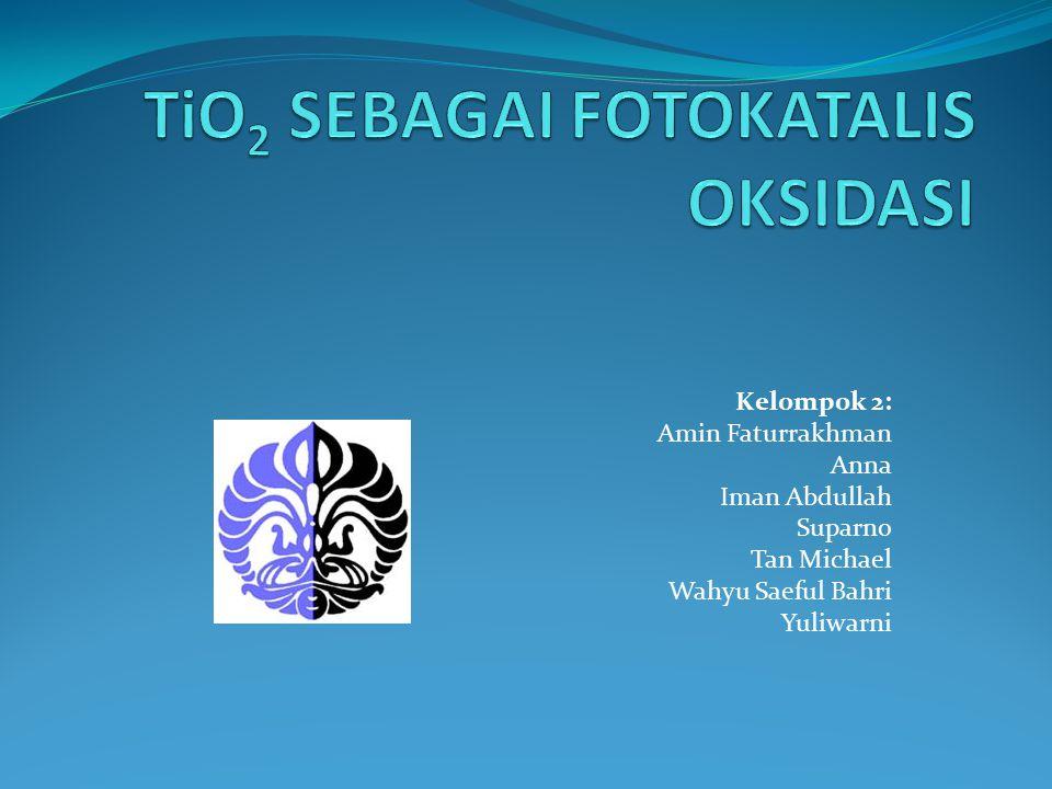 TiO2 SEBAGAI FOTOKATALIS OKSIDASI