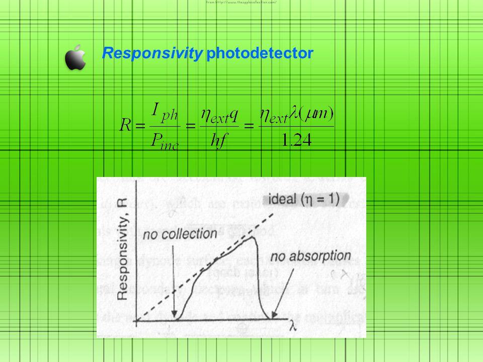 Responsivity photodetector