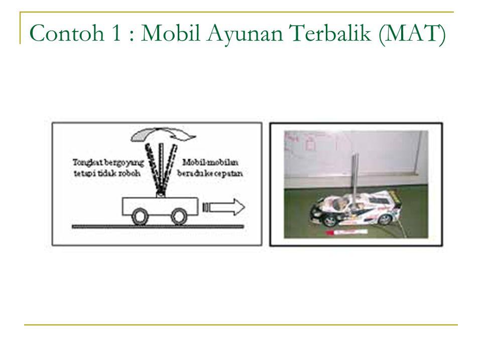 Contoh 1 : Mobil Ayunan Terbalik (MAT)