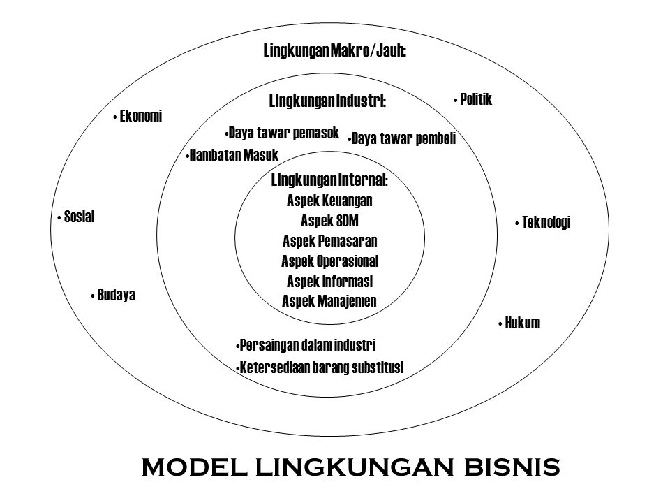 MODEL LINGKUNGAN BISNIS