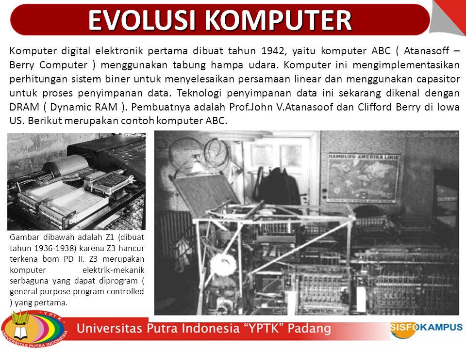 EVOLUSI KOMPUTER