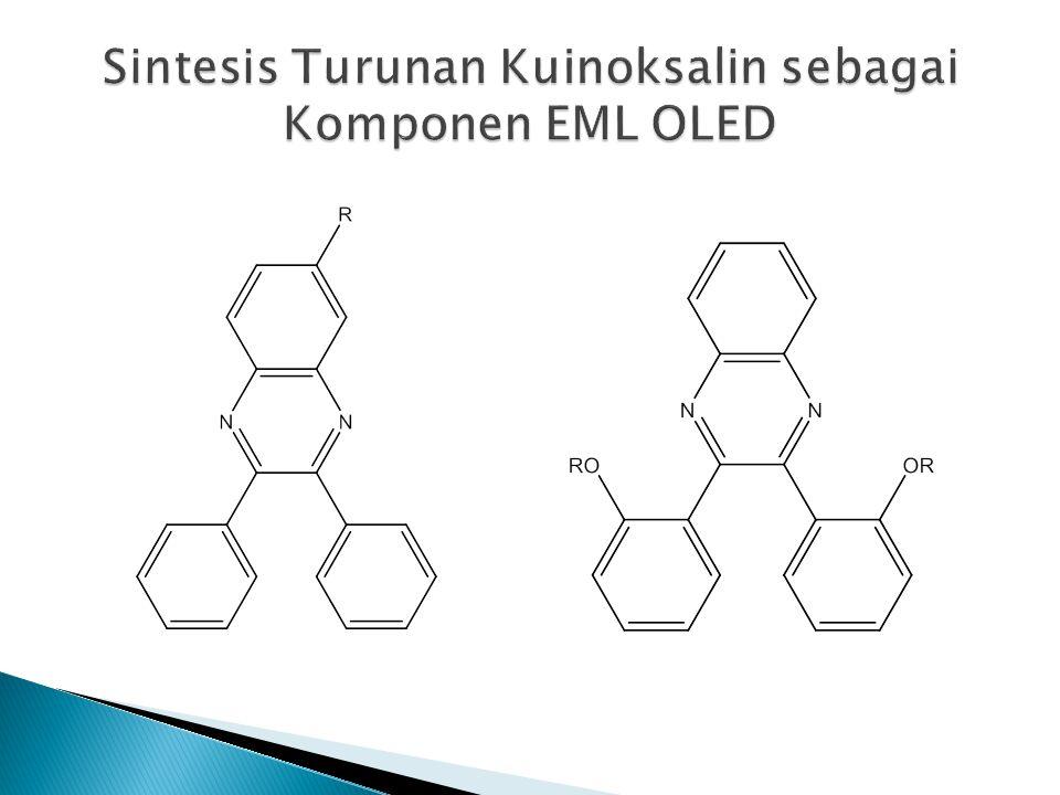 Sintesis Turunan Kuinoksalin sebagai Komponen EML OLED