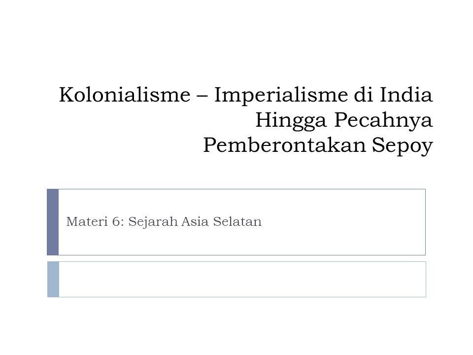 Materi 6: Sejarah Asia Selatan