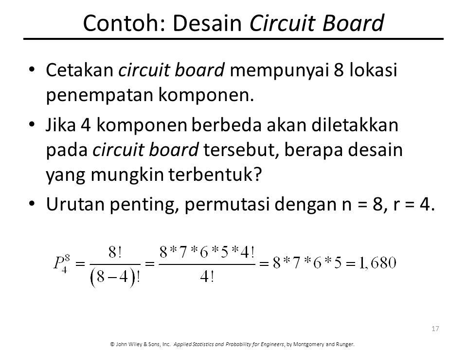 Contoh: Desain Circuit Board