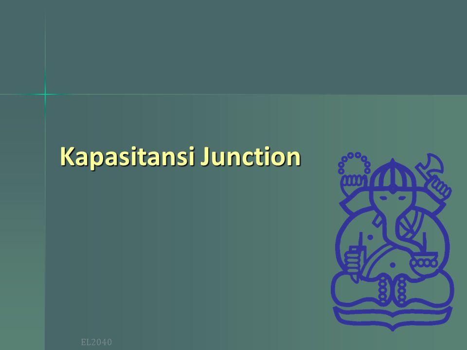 Kapasitansi Junction