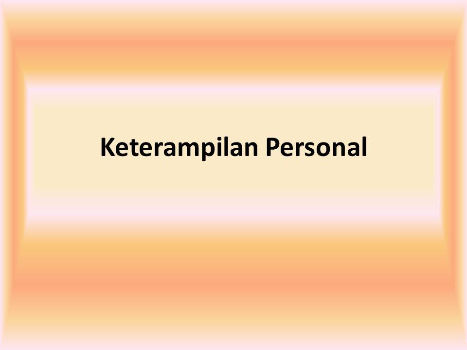 Keterampilan Personal