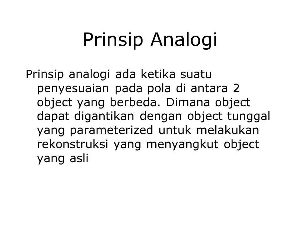 Prinsip Analogi