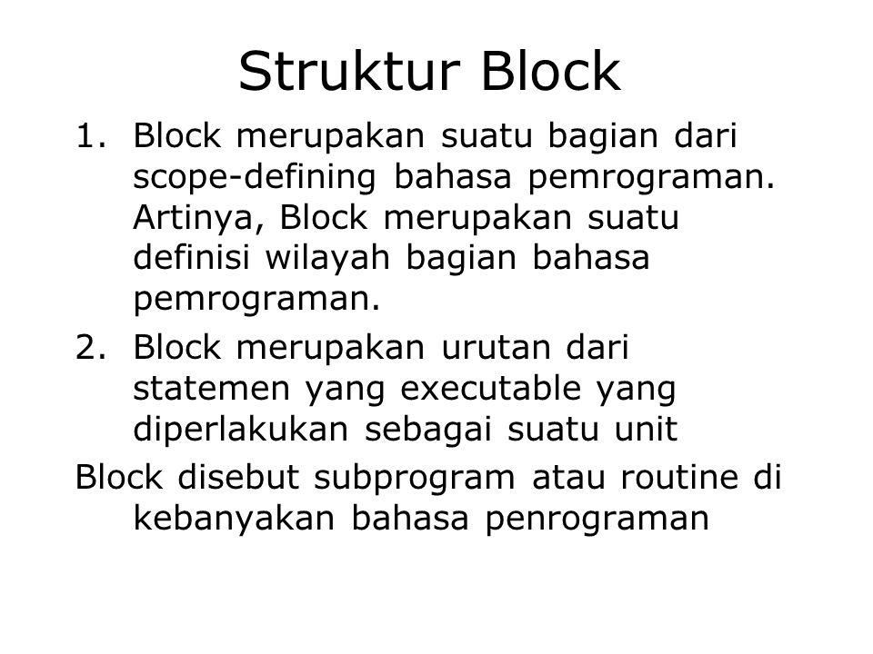 Struktur Block