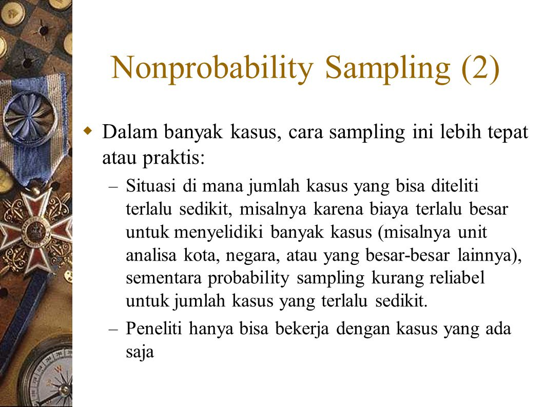 Nonprobability Sampling (2)