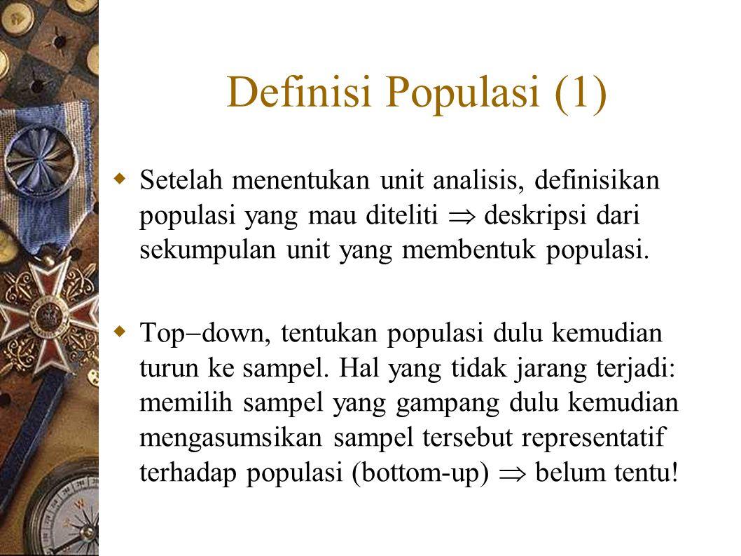 Definisi Populasi (1)