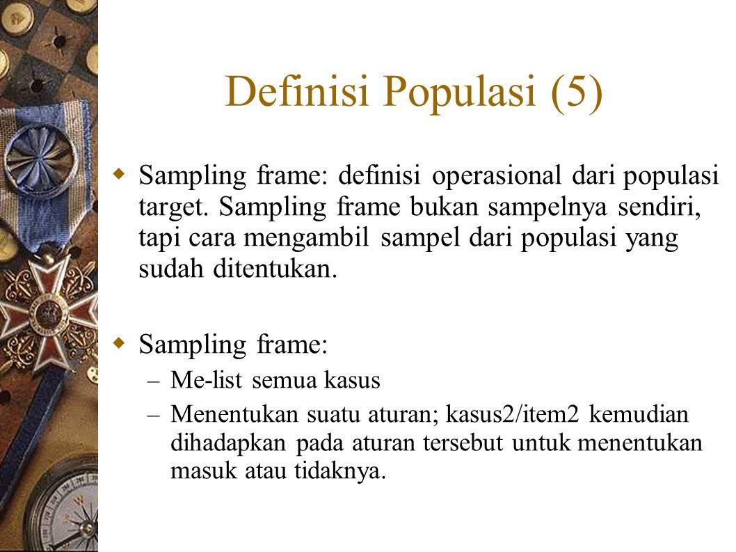 Definisi Populasi (5)
