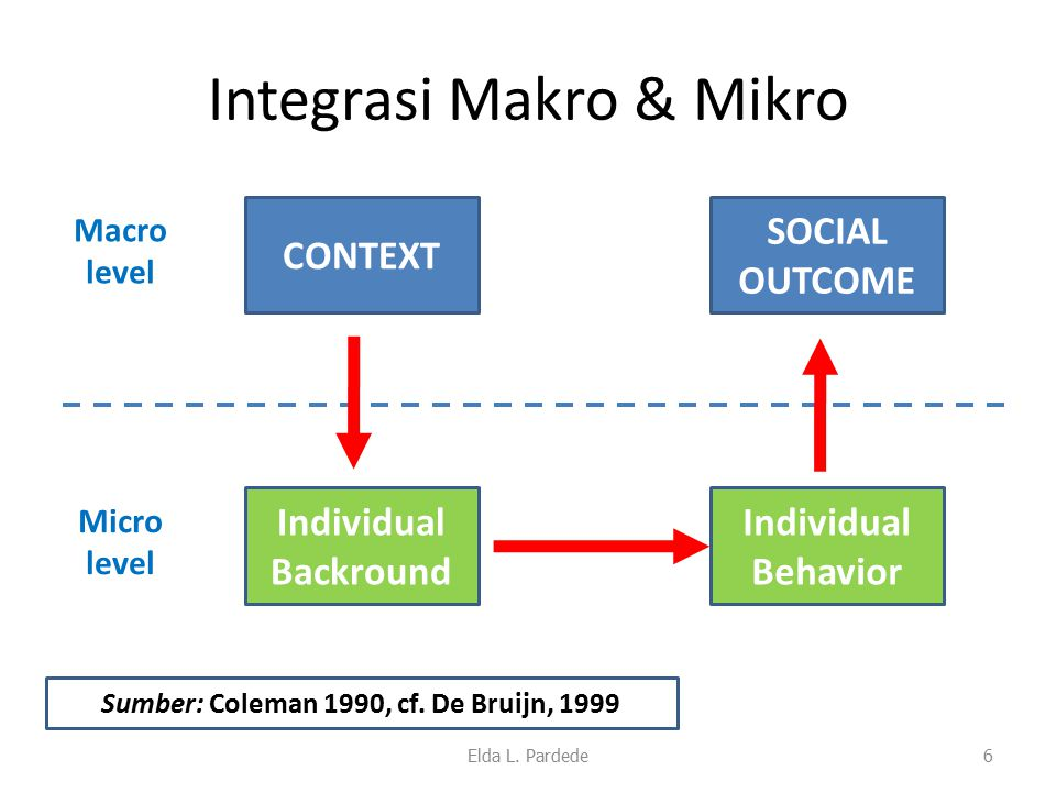 Integrasi Makro & Mikro