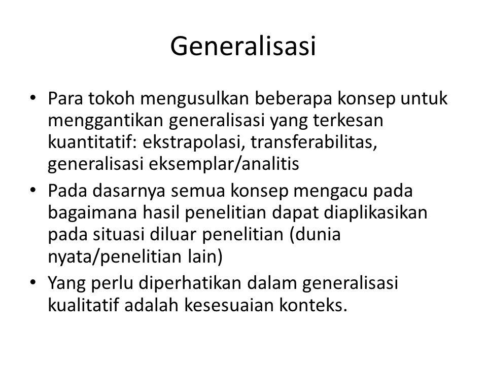 Generalisasi
