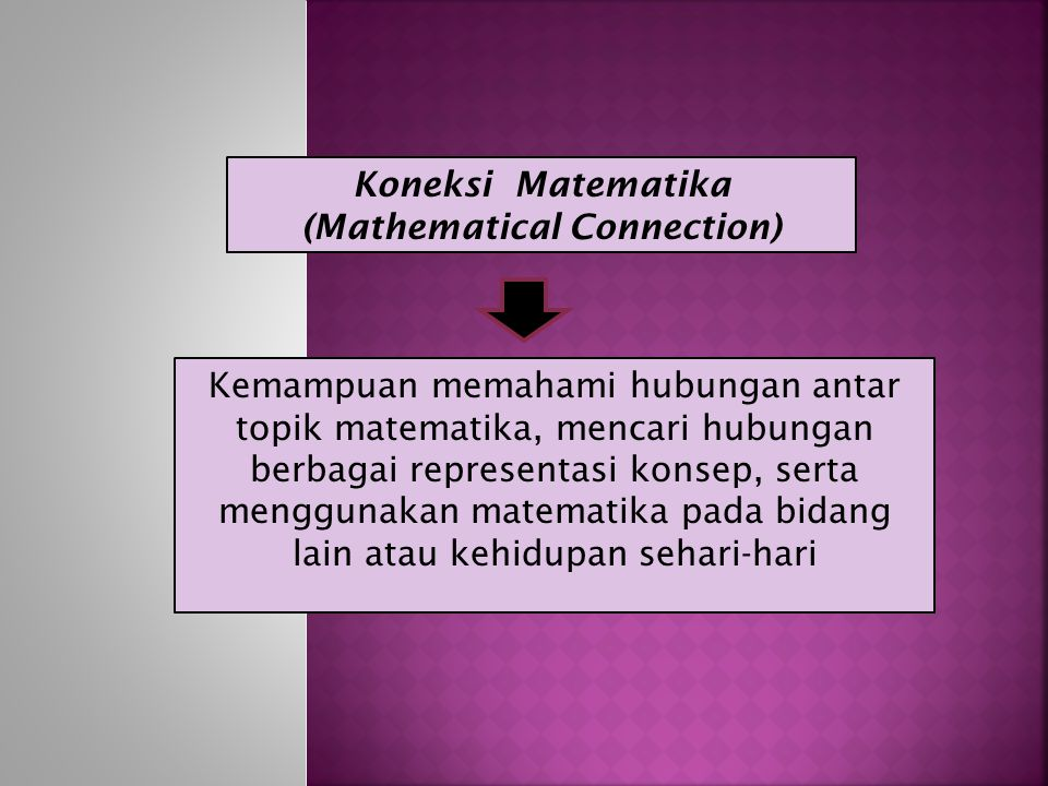 (Mathematical Connection)