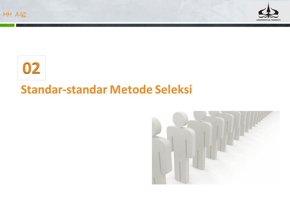 02 Standar-standar Metode Seleksi