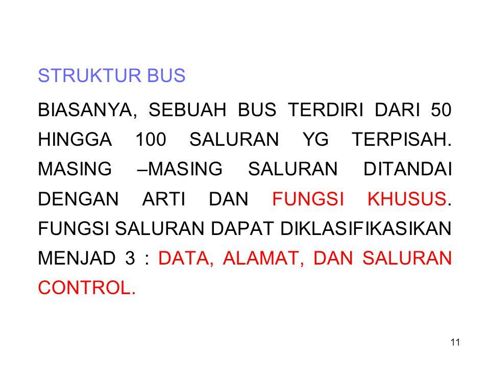 STRUKTUR BUS