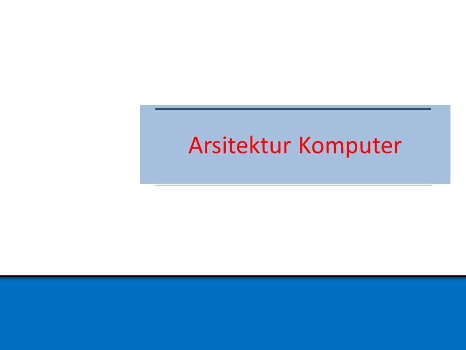 Arsitektur Komputer