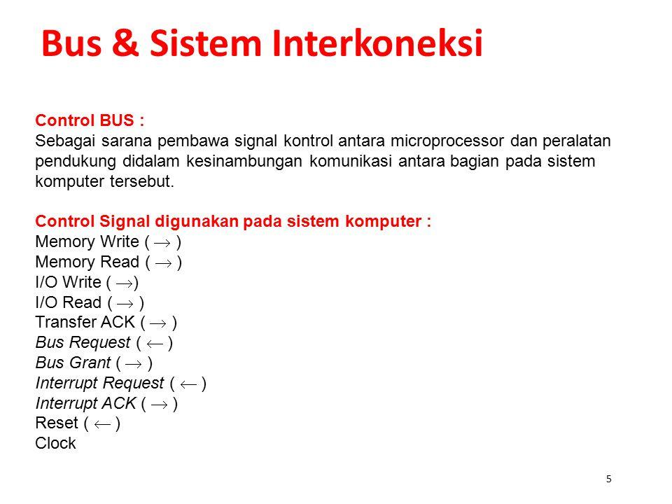 Bus & Sistem Interkoneksi