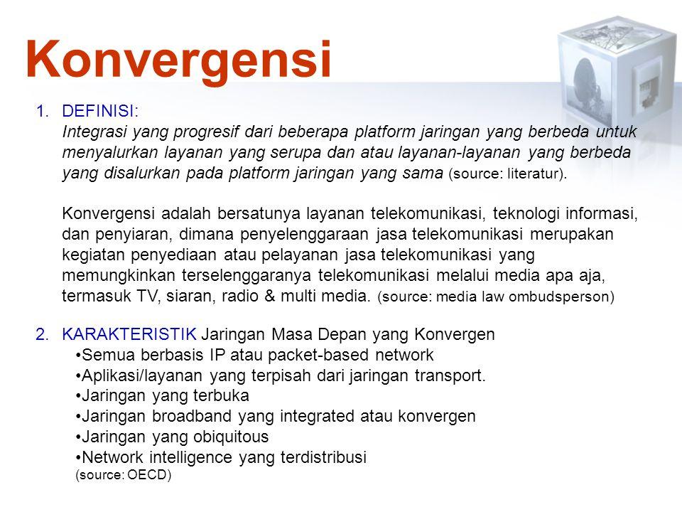 Konvergensi DEFINISI: