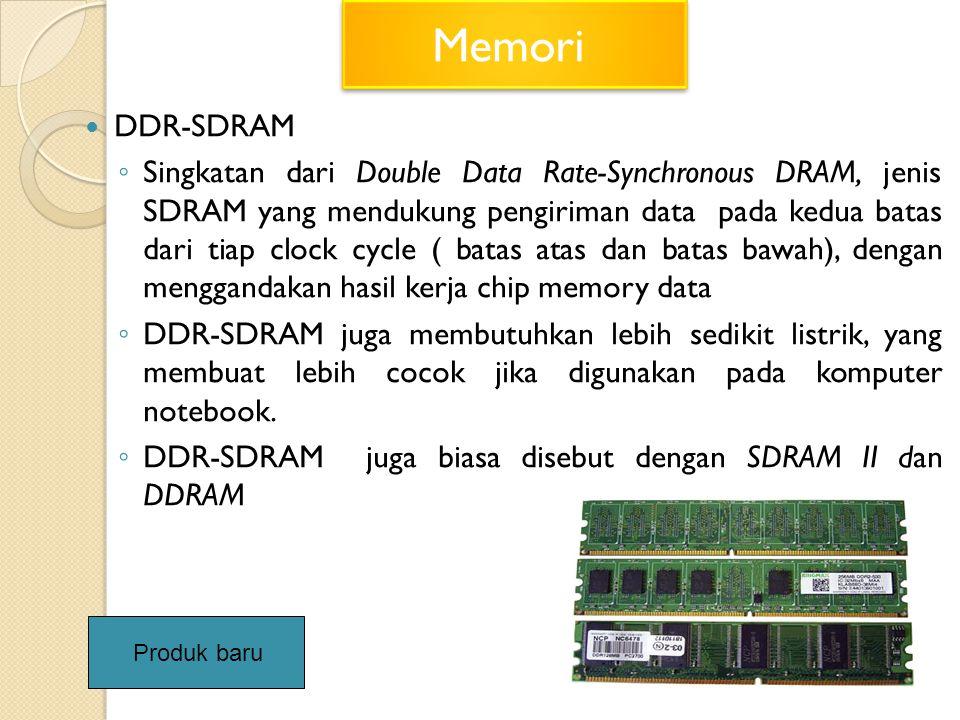 Memori DDR-SDRAM.