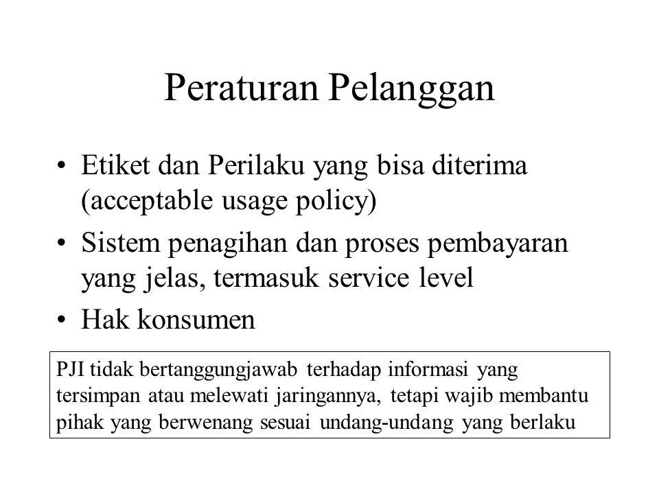 Peraturan Pelanggan Etiket dan Perilaku yang bisa diterima (acceptable usage policy)
